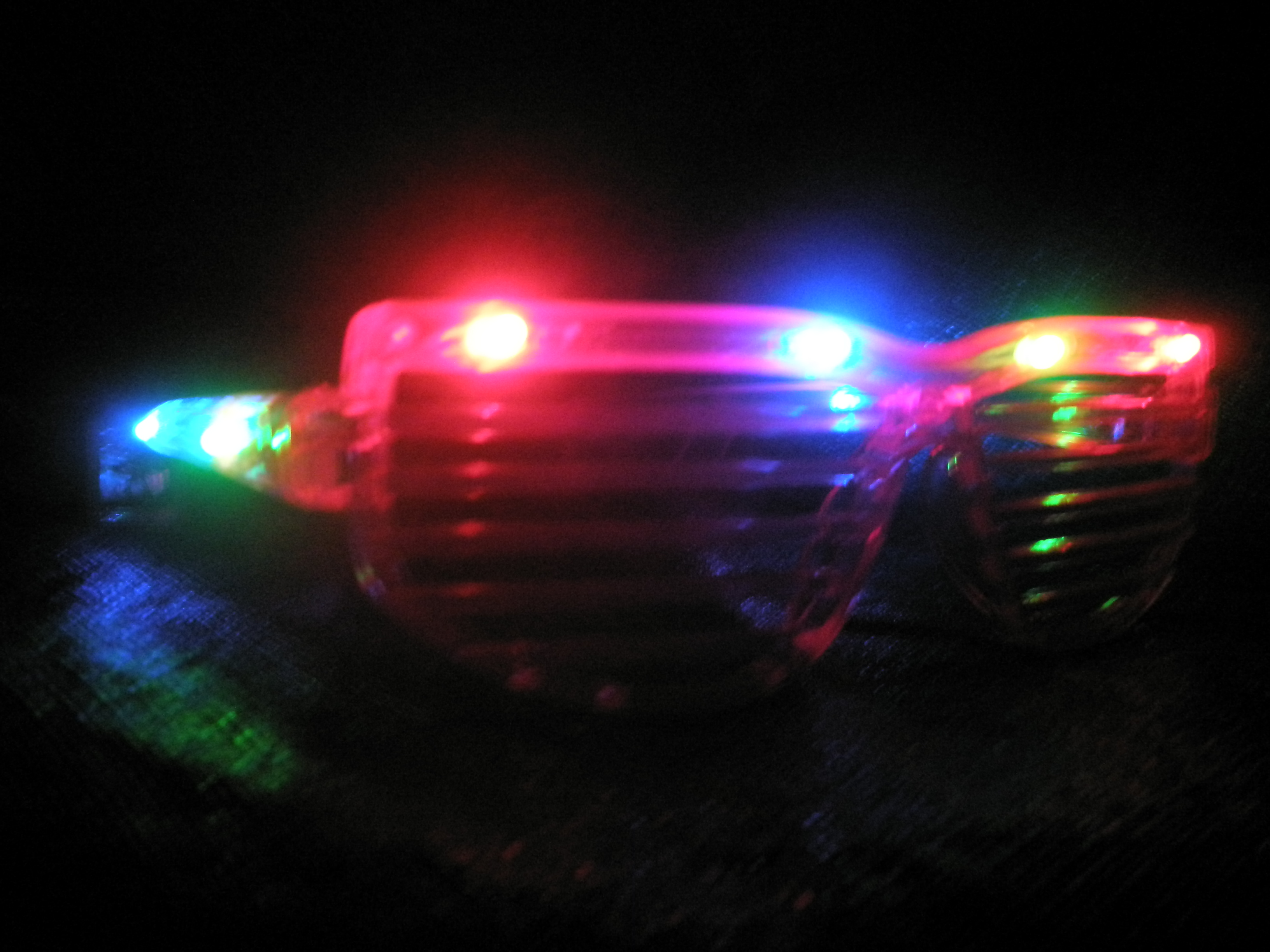 Flashing Shutter Shades