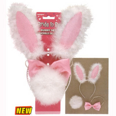 Furry Bunny Set - Bride to be