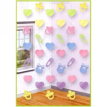Hanging Baby Shower Decoration