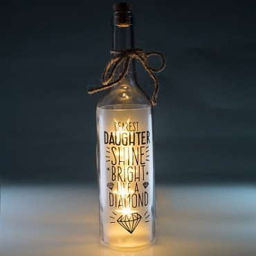 Daughter Light up Star Bottle