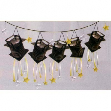 Lights Camera Action Hanging Garland