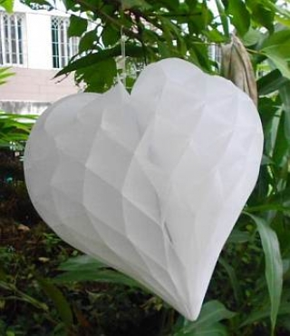 White Heart Honeycomb