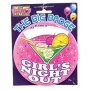 Girls Night Out Huge Badge